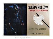 SLEEPY HOLLOW CRYPTOZOIC SEASON 1 COSTUME WARDROBE M13 HEADLESS HORSEMAN