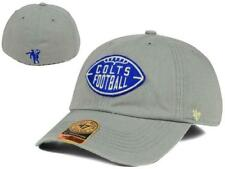 New Baltimore Indianapolis Colts RETRO Logo 47 Brand Fitted Hat Size L ____B106