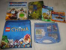 Lego Chima Ninjago Lot 70154 30254 30265 Figures Cases Book Cards Cole Zane Dx >