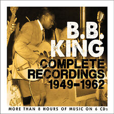 BB KING New Sealed 2017 COMPLETE RECORDINGS 1949 - 1962 6 CD BOXSET