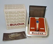 Vintage Bulova Ladies Wind Up Wrist Watch, 23 Jewels, New Old Stock From Jeweler