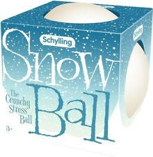 NEW Schylling  Snow Ball Crunch Stress Ball from Mr Toys