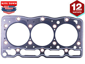 Cylinder Head Gasket Metal For Kubota Bobcat 1G063-03310 D1105 D1305
