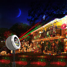 Outdoor Laser Lights Projector Light Garden Patio Remote Event Party Lighting