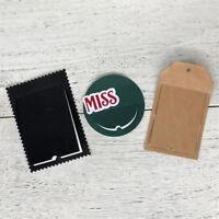 Flip Tags Metal Cutting Dies For DIY Scrapbooking Album Paper Cards HICA