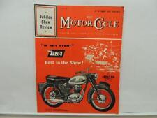 Nov 1960 The Motorcycle Magazine BSA Scooter Norton Triumph Bultaco L10592