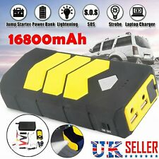 Portable Car Jump Starter Emergency Battery Booster Dual USB Charger Power Bank