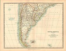 Antique South American Maps Atlases 19101919 Date Range eBay