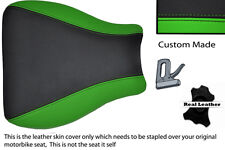 BLACK & GREEN CUSTOM 95-97 FITS KAWASAKI NINJA ZX6R 600 FRONT SEAT COVER