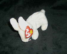 TY Original Beanie Baby NIBBLER the Rabbit - New with tag - DOB April 6, 1998