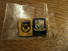 Oxford United Match Badge v Southend United - 2010-2011 Season -  Brand New