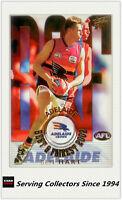 2003 Select AFL XL Ultra Series Best & Firest Card BF4 Ben Hart (Adelaide)