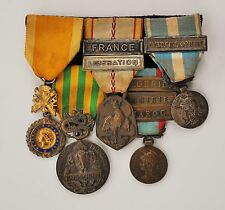 GROUP OF 5 FRENCH MEDALS WW2, INDOCHINA WAR FOREIGN LEGION 1945-1954