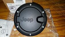2007 to 2017 Jeep Wrangler 4 DOOR Genuine Mopar Accessory Fuel Filler Door