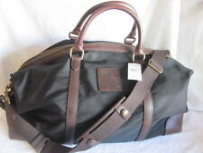 NEW $498 Polo Ralph Lauren  Overnight Travel Gym Canvas Bag - BLACK
