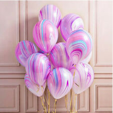 Hot 10Pcs/Lot Marble Agate Latex 12 Inch Balloon Party Birthday Decro Baby Shows