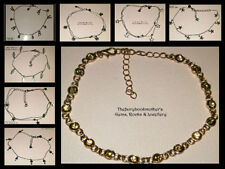 Acrylic Silver Plated Fashion Anklets
