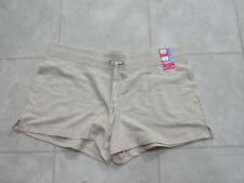 NWT Eddie Bauer Womens Lounge Shorts-Color-HTR Oatmeal-Size-Large-MSRP-$30