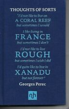 GEORGES PEREC - Thoughts of Sorts: Introduced by Margaret Drabble  H/B 2011