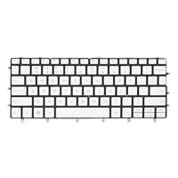 Laptop US English Backlit Keyboard for Dell XPS 13 9370 0K2NCP 13.3'' White