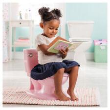 Ma taille Pot Bébé Toilette Siège Sound Flush Poignée & Couvercle Rose Fille