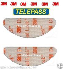 3M COPPIA ADESIVI x telepass DUAL LOCK  BIADESIVO dispositivo ORIGINALE-  SJ3560