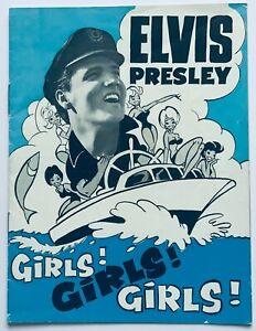 ELVIS PRESLEY - GENUINE AND ORIGINAL NORTH EUROPEAN MOVIE PROGRAMME.