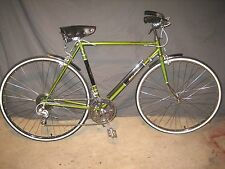 """VINTAGE BICYCLE 1973 RALEIGH GAZELLE GRAND PRIX 10 SPEED TOURING 27"""" NEW TIRES"""