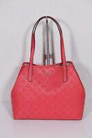 Neu Guess elegante Handtasche Shopper mit Pochette Vikky Poppy 4G Logoprint