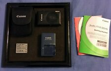 Canon Powershot ELPH 300HS Digital Camera - Black Includes Case & Charger