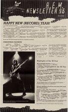 R.E.M. Fanclub Newsletter 1996 Vol.1