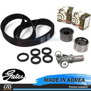 Gates Timing Belt Kit Hydraulic Tensioner GMB Fits 02-06 Hyundai Kia 3.5L⭐⭐⭐⭐⭐