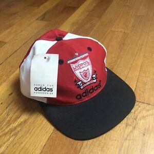 Vintage Liverpool Football Club Adidas Snap Back Hat Cap