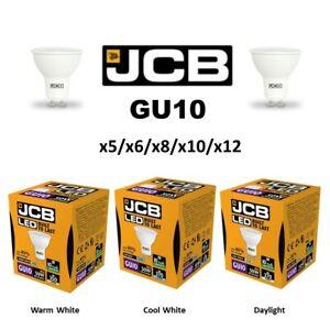 JCB GU10 LED 5W = 50W Spot Light Bulb Lamp Down Light Warm White Cool Daylight
