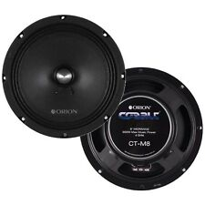 "Orion CTM8 Cobalt 8"" Midrange Speakers 900 Watts, Pair"