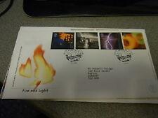 Primer día cubierta. fuego Y Luz. 2000