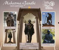 Guyana Mahatma Gandhi Stamps 2019 MNH Famous People Historical Figures 4v M/S