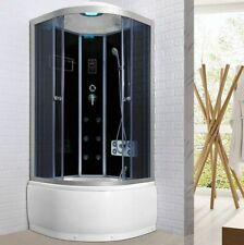 Cabina doccia con vasca box Idromassaggio 90x90 bluetooth led ozonoterapia |r789