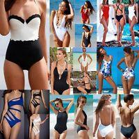 Sexy Women One-Piece Push Up Bikini Bandage Monokini Swimsuit Swimwear Bathing