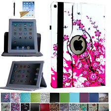 """For iPad 7th Generation 10.2"""" 360 Rotating Case Cover Stand+Screen Protector/Pen"""