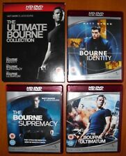 La Trilogía de Bourne HD-DVD 1080p (NO Blu-Ray, NO DVD) Versión UK en Castellano