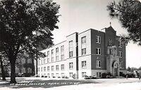 A79/ Peru Illinois Il Real Photo RPPC Postcard c50s St Bedes College