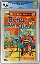 CGC 9.6 ARCHIE'S GIRLS BETTY & VERONICA #339 .. 1985 .. SCARCE ..