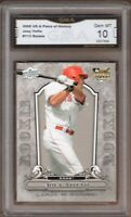 GMA 10 Gem Mint JOEY VOTTO 2008 UD Upper Deck Piece of History ROOKIE Card !
