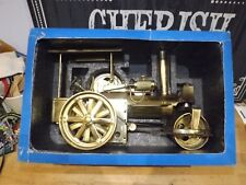 Wilesco d36ms laiton vieux Smokey LIVE STEAM ROLLER ENGINE boxed Comme neuf