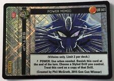 Dragonball Z DBZ TCG Panini Ultra Rare Power Mimic UR141