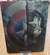 Captain America Civil War - Steelbook (Bluray 3D + Bluray)