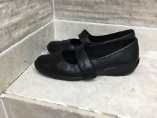 K by Clark's  Mary Jane Black Flat shoes, UK 5.5