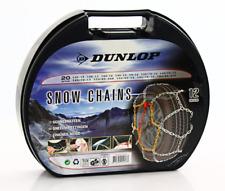 Dunlop Schneeketten Eis Spikes Reifen Eiskette Anti-Rutsch Kette Reifenkette