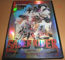 SABER RIDER anime DVD from makers of voltron STAR SHERIFFS Musketeer Bismarck